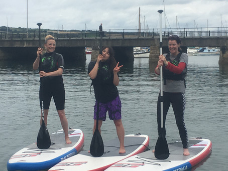 Another great day for a SUP lesson