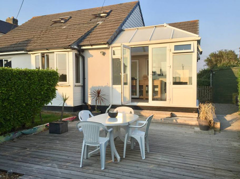 House decking area