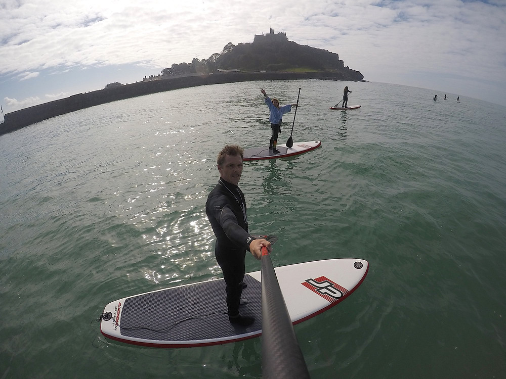 GoSUP paddle club St Michaels Mount
