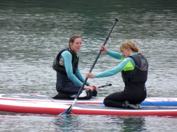 Professional SUP instructors