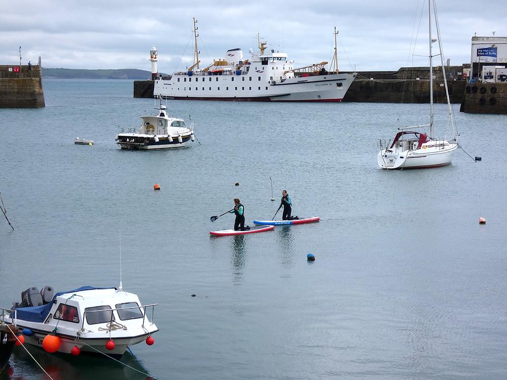 sup penzance harbour