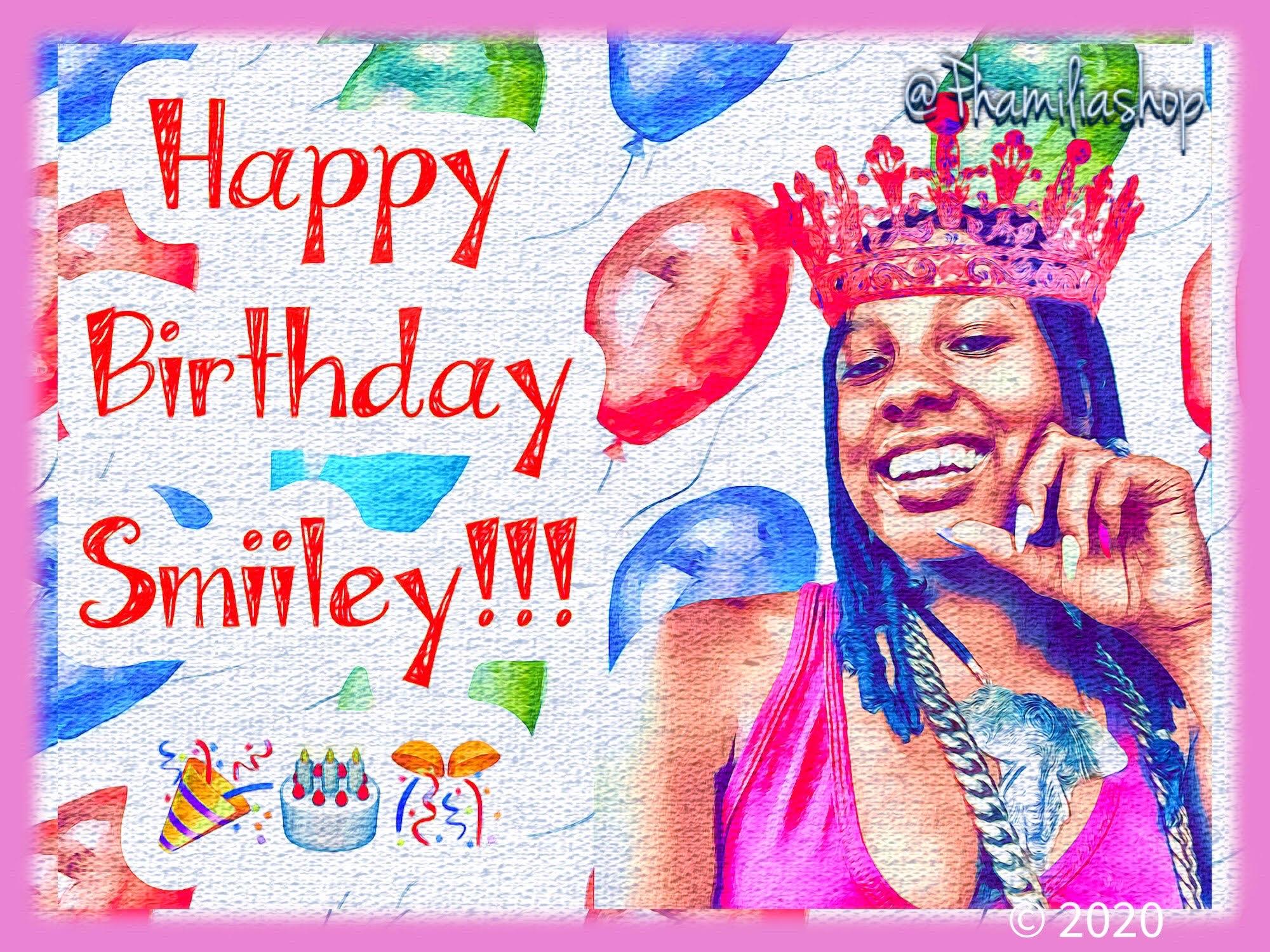 Happy Birthday Smiiley