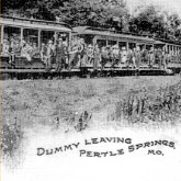 Dummy Leaving Pertle Springs