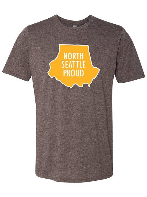 North Seattle Proud T-Shirt (Espresso)