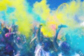 Las bombas de color