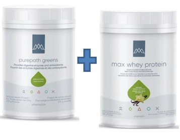 Bundle #3 Purepath Greens and Max Whey Protein