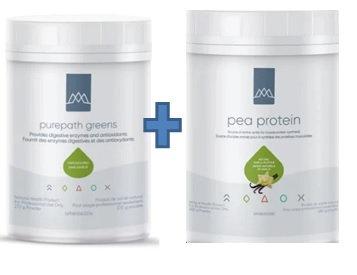 Bundle #4Purepath Greens and Pea Protein Powder