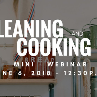 Detox Webinar - Cleaning and Cooking