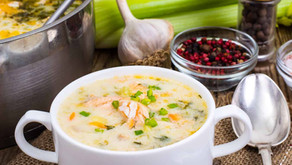Wild Caught Salmon Chowder