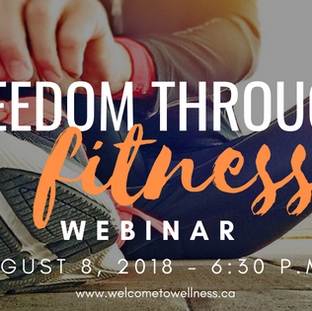 Freedom Through Fitness Webinar