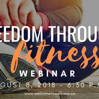 Freedom Through Fitness Webinar