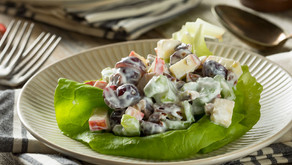 """Health""-ified Waldorf Salad"