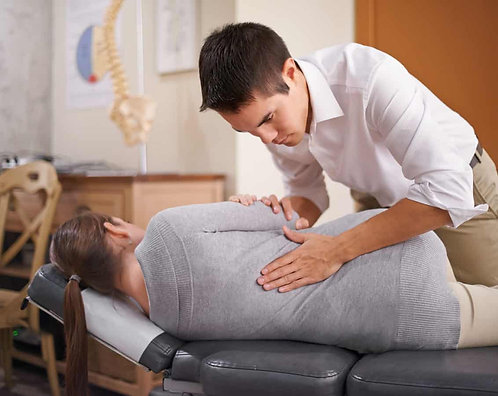 Chiropractic Adjustment - Senior 65 plus