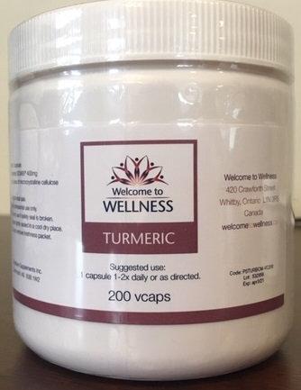 Turmeric - 200Vcaps