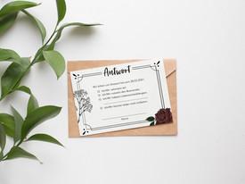 Hochzeitskarten Design