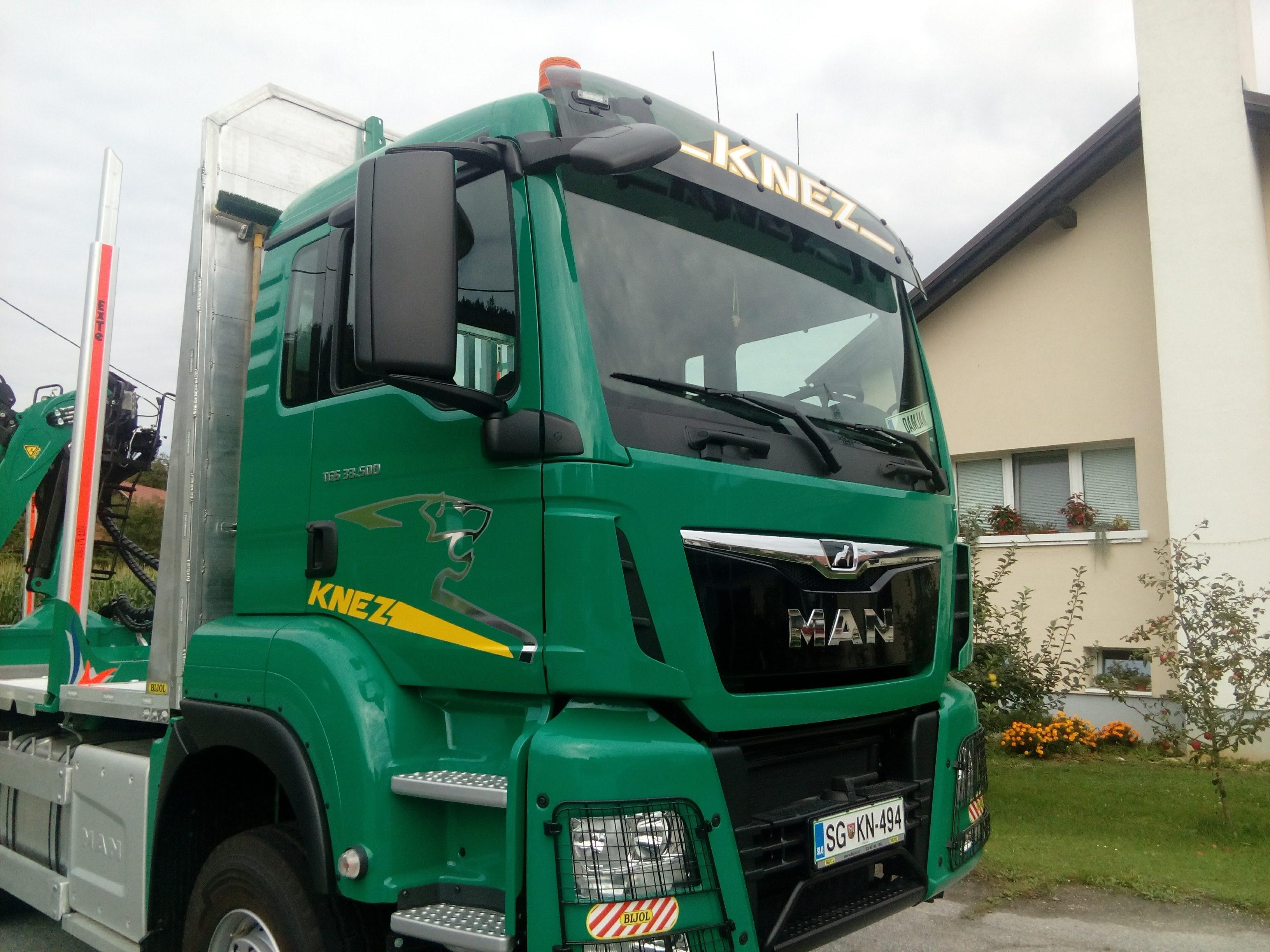 nalepke tovornjak Knez