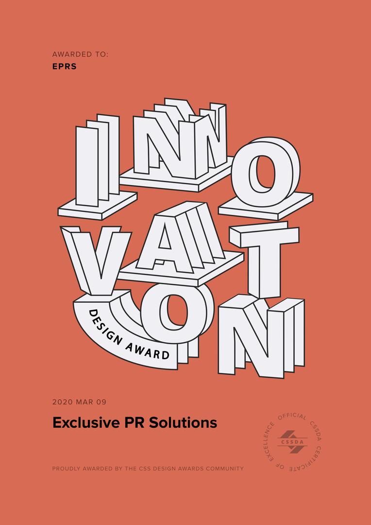 Design Award Exclusive PR Solutions