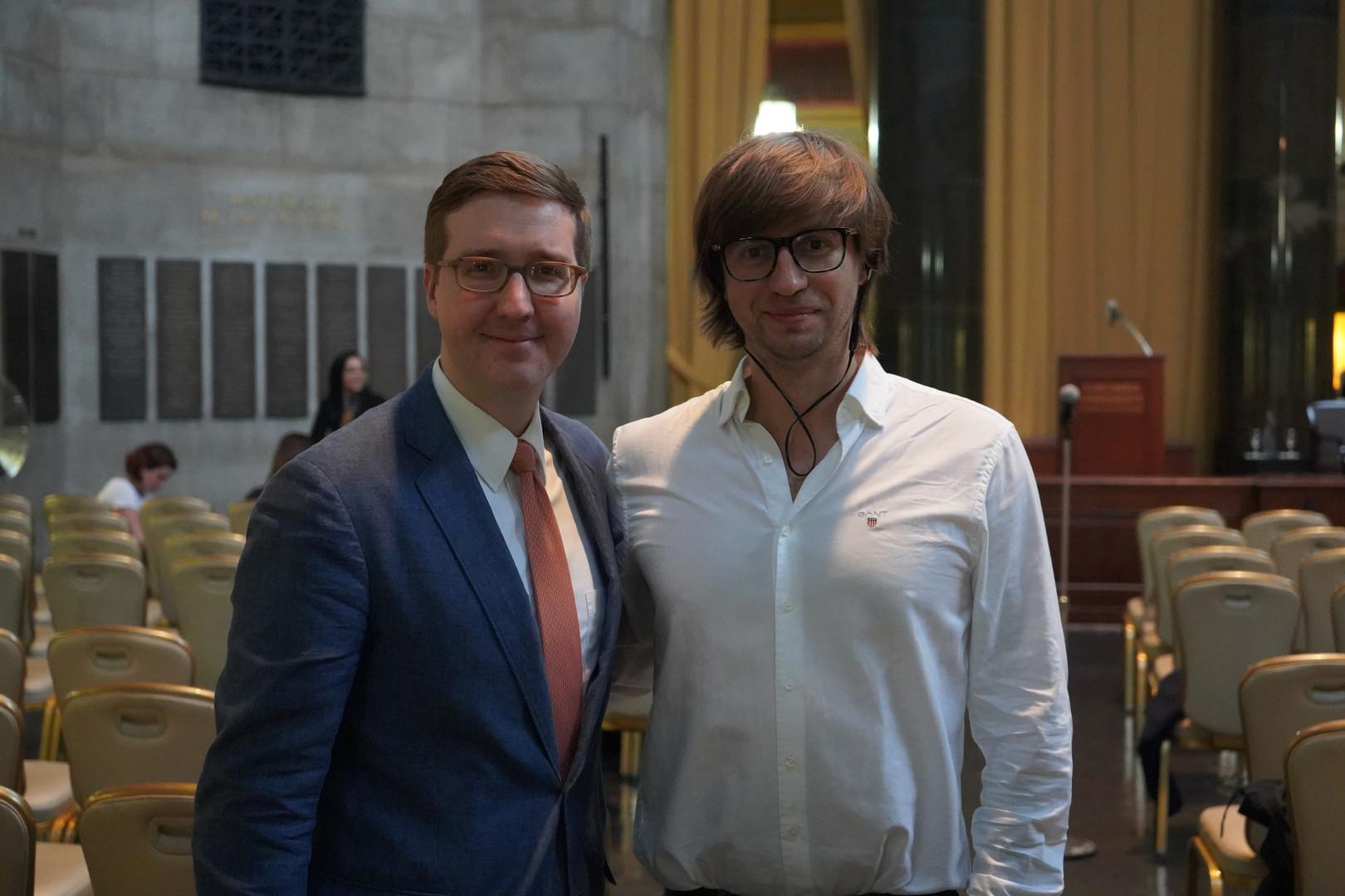 Valentin Saitarli and Howard Warren Buffett