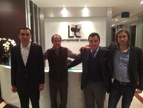 Delegation from Kazakhstan