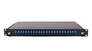 PP24 24PORTS PATCH PANNEL WITH SC COUPLER