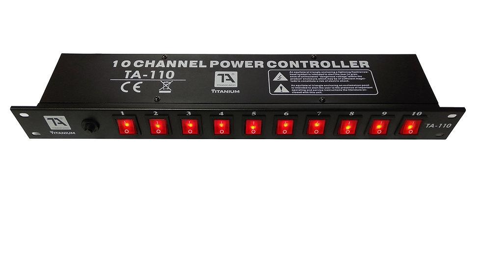 10 CHANNEL POWER CONTROLLER (TA-110)