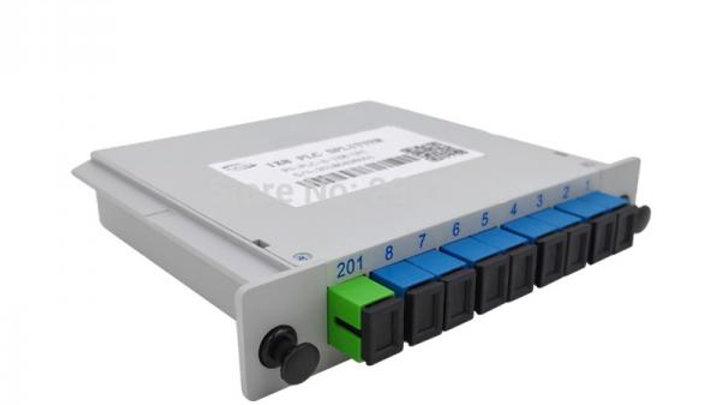 SPLITTER 1:8 SC/IPC LGX BOX