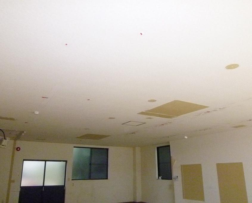 中園店舗・内部天井