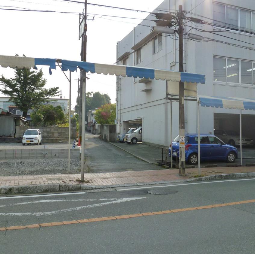 新花見坂駐車場ー日生からの入口