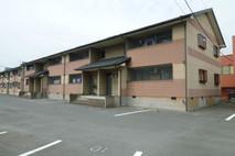 【フローラハイツ2-204】3月下旬退去予定! エアコン2台、駐車場2台、駐輪場完備!!