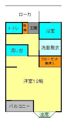 フローラ1-101-間取JPG