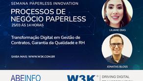 W3K na 2º Ed. Semana Paperless, 2021
