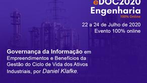Governança da Informação no eDOC Engenharia 2020 Online com a W3K