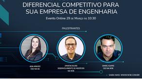 Evento Tecnologia como Diferencial Competitivo para sua Empresa de Engenharia