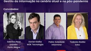 eDoc Talks Saúde Online - Youtube 28.05 às 18h30