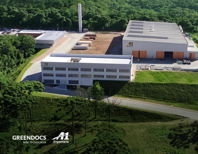 A1 Engenharia, localizada em Araucária, região metropolitana de Curitiba.