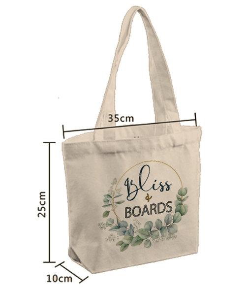 Custom Printed Canvas Bag (100pcs)