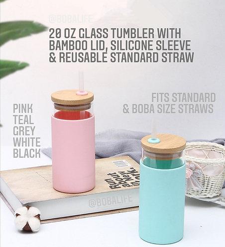 20oz Glass Tumbler
