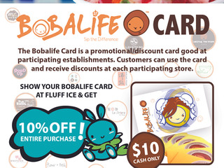 2016 BOBALIFE CARD