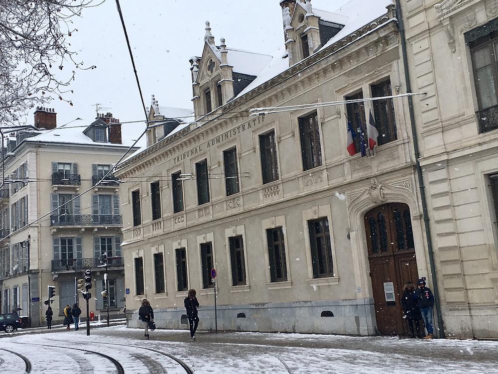François GRENIER, avocat associé SMITH D'ORIA plaidait au Tribunal administratif de Grenoble lundi 18 décembre 2017