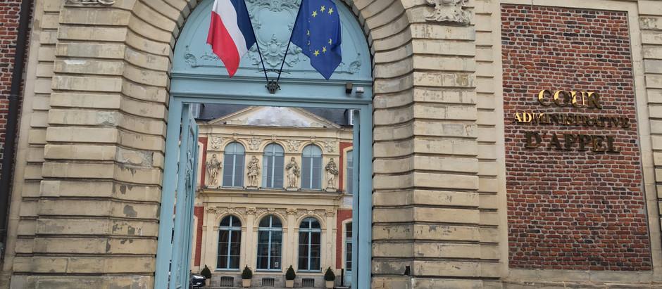 François GRENIER plaidait à la Cour administrative d'appel de DOUAI jeudi 02 novembre 2017