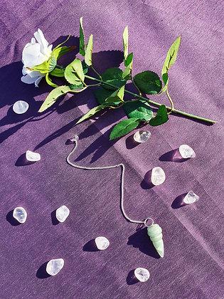 Jade Carved Pendulum