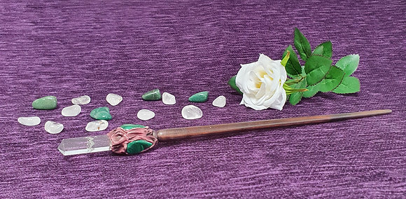 Large Malachite Wand