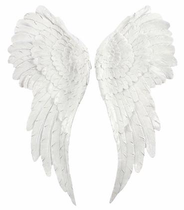 Large Glitter Angel Wings