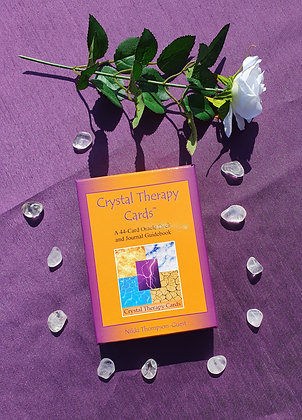 Crystal Therapy Oracle Cards