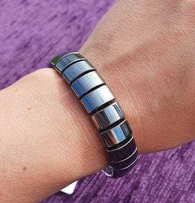 Chunky Hematite Bracelet