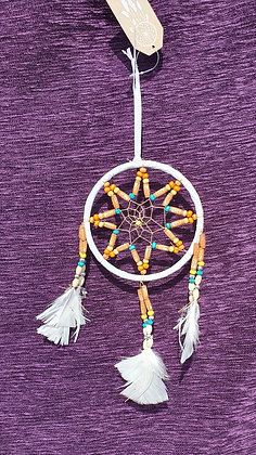 Wooden Beaded Dreamcatcher