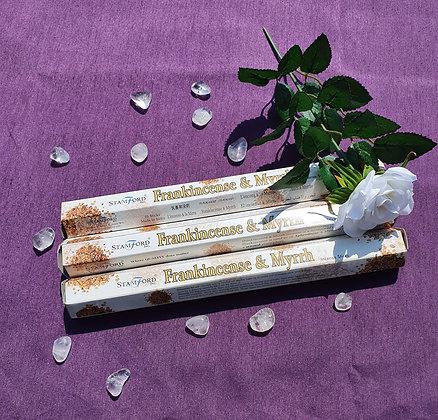 Stamford Frankincense & Myrrh Sticks