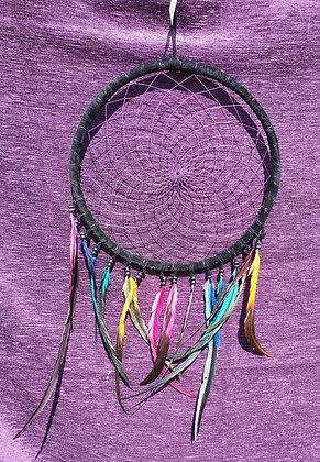 Large Black & Purple Dreamcatcher