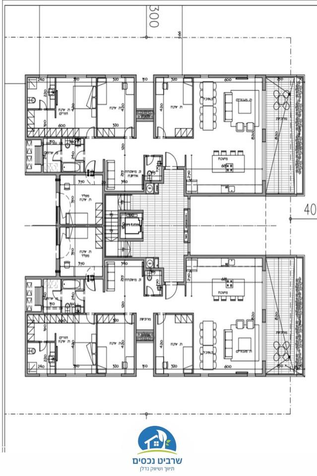 דירה מפנקת במיקום מבוקש, בבנייה