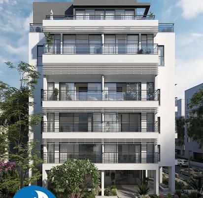 דירת 4 חדרים חדשה מקבלן בתל אביב